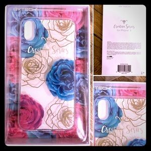 """NWT """"BYTECH"""" Creative Series For iPhone X Floral"""